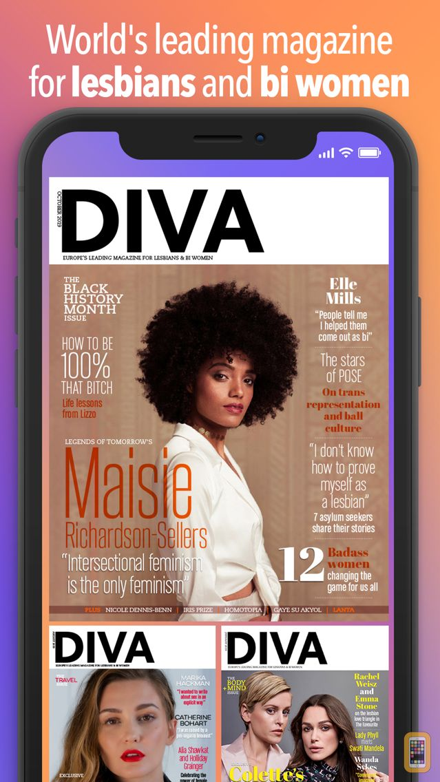 Screenshot - Diva Magazine