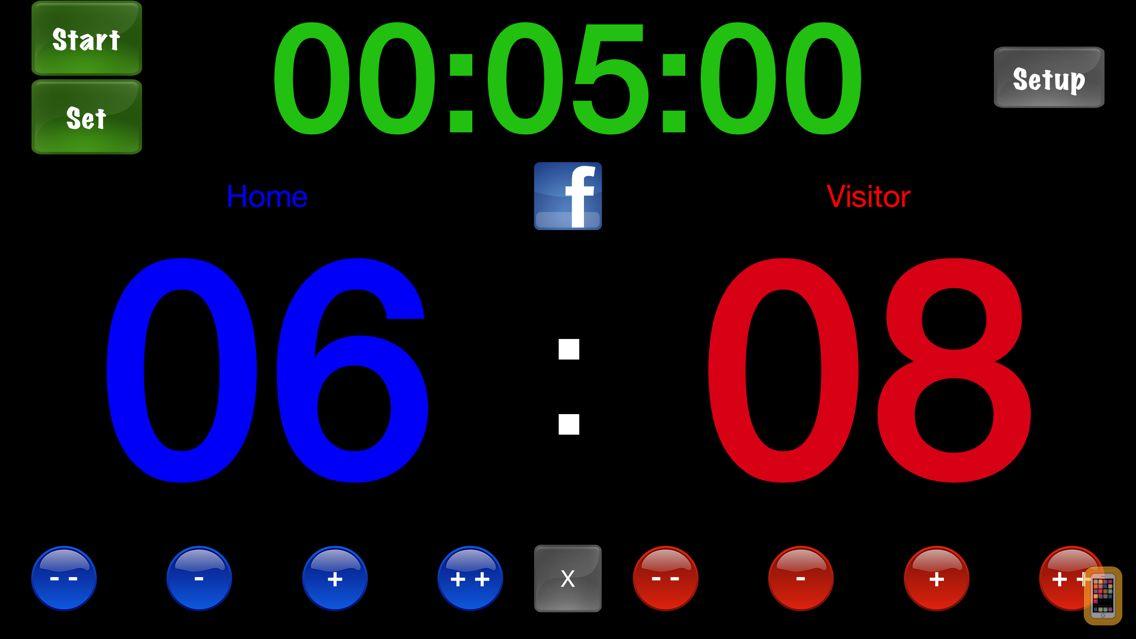 Screenshot - Score Keeper HD