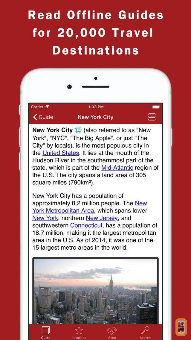 Screenshot - World Travel Guide Offline