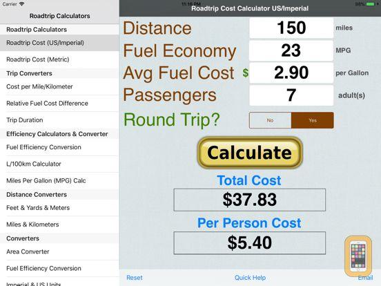 trip calculator google maps with tolls gas expenses tollguru
