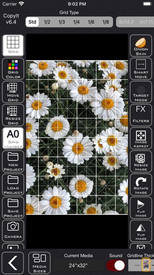 Screenshot - CopyIt The Grid Drawing Method