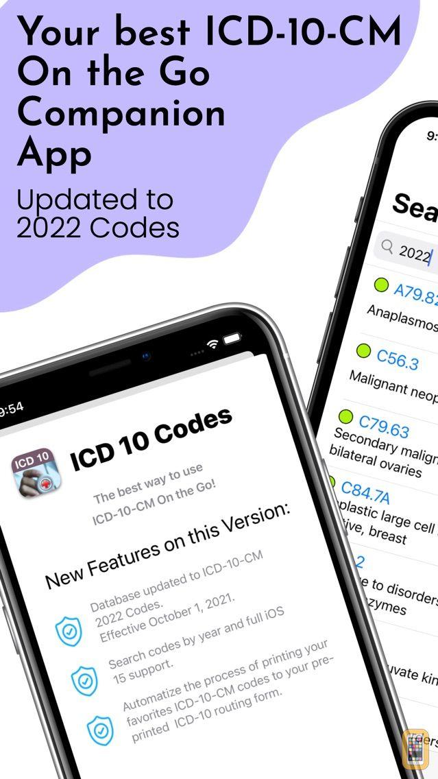 Screenshot - ICD-10 On the Go 2021