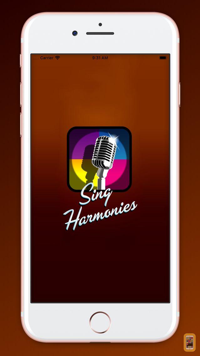 Screenshot - Sing Harmonies