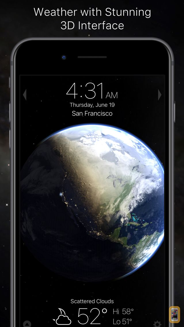 Screenshot - Living Earth - Clock & Weather