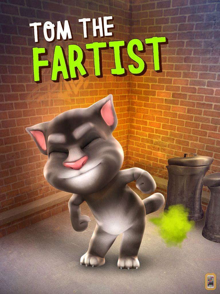 Screenshot - Talking Tom Cat for iPad