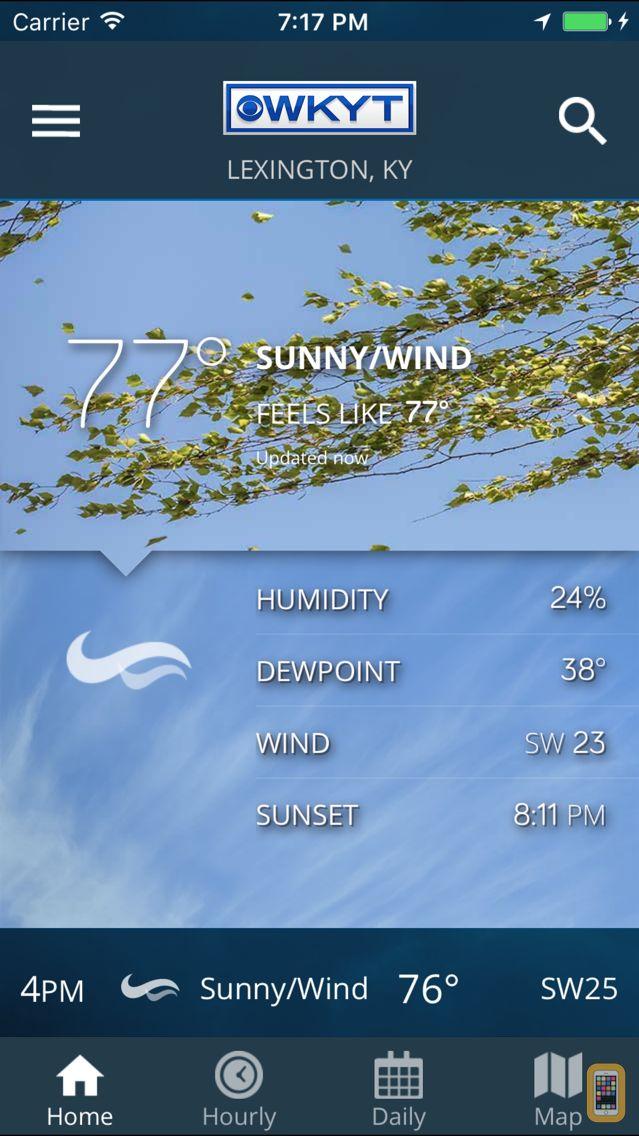 Screenshot - WKYT FirstAlert Weather