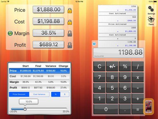 Screenshot - Margin+ Pro(Margin Calculator)