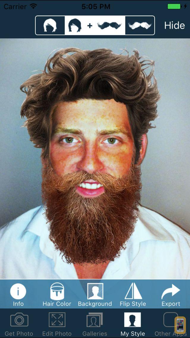 Screenshot - Hair and Beard Styles PRO