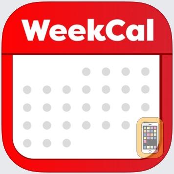 Week Calendar by WeekCal B.V. (iPhone)
