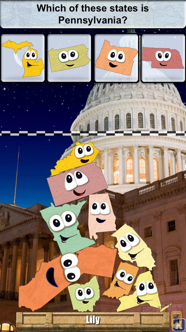 Screenshot - Stack the States®