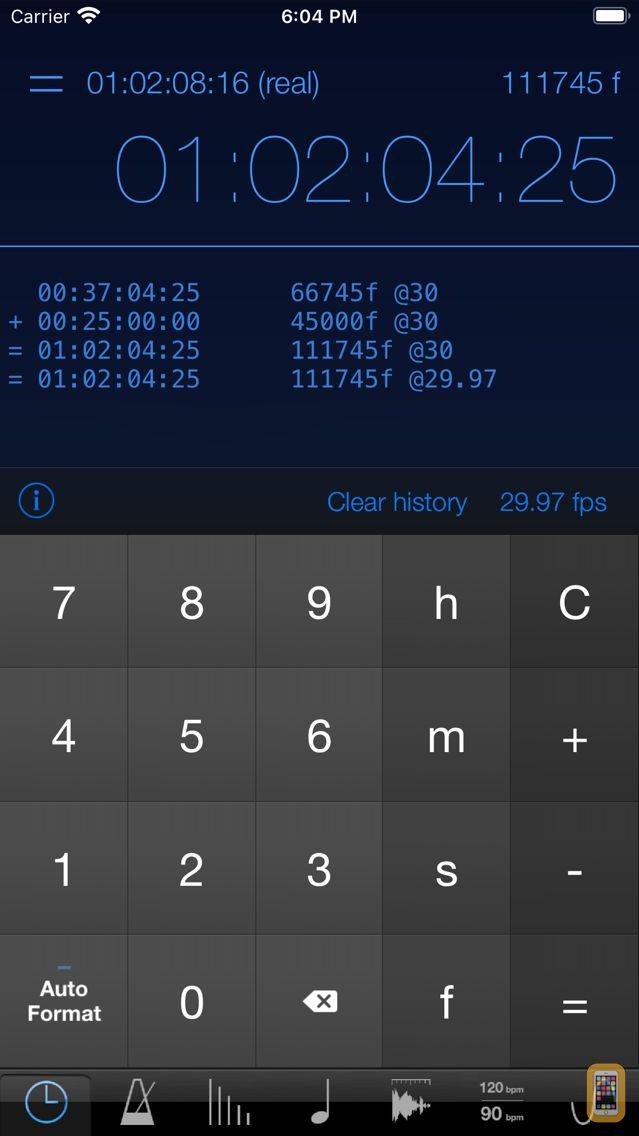 Screenshot - musicMath Touch