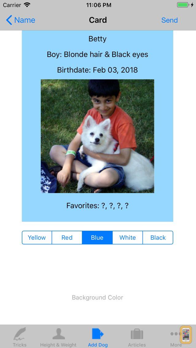 Screenshot - Dog Soundboard 4 Dogs (Chihuahua, German Shepherd, Labrador, Rottweiler) with Animal Tracking, & Dog Age Calculator
