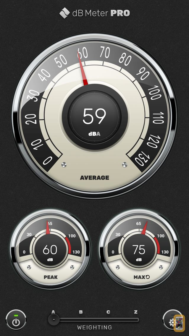 Screenshot - Decibel Meter Pro