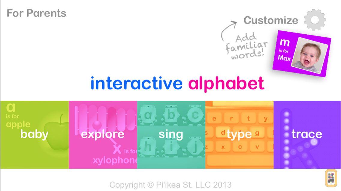 Screenshot - Interactive Alphabet ABC's