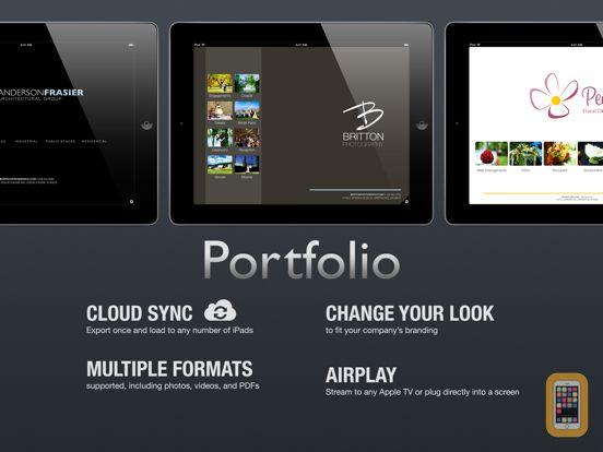 Screenshot - Portfolio for iPad