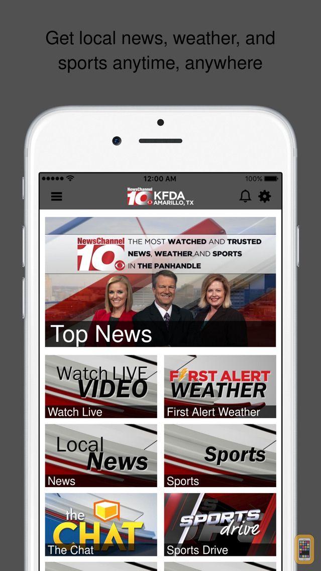 Screenshot - NewsChannel 10 – Amarillo, TX