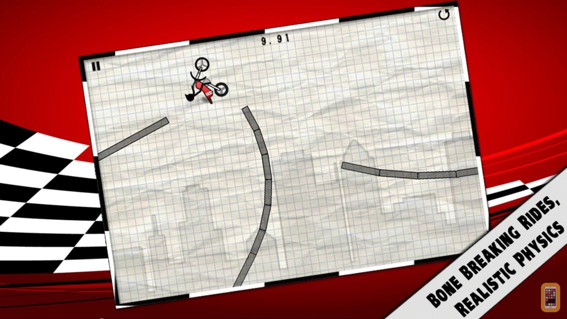 Screenshot - Stick Stunt Biker