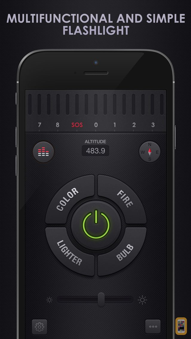 Screenshot - Flashlight for iPhone + iPad