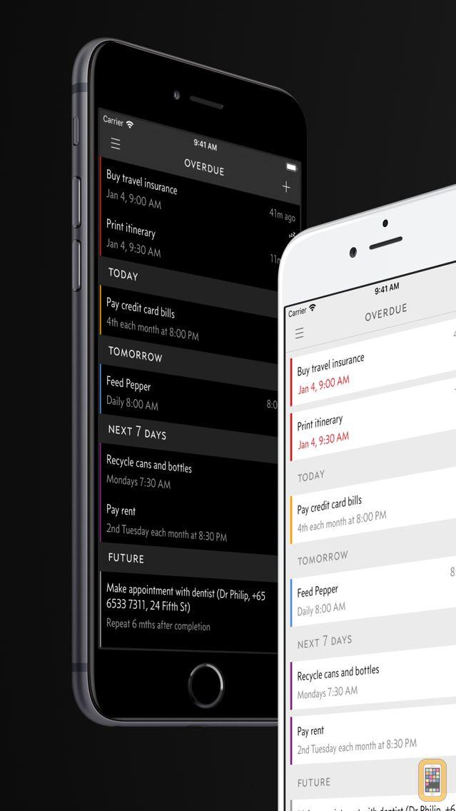 Screenshot - Due - Reminders & Timers