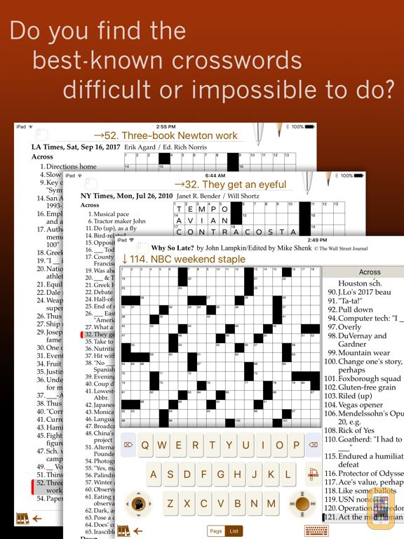 Screenshot - Across Crossword Trainer
