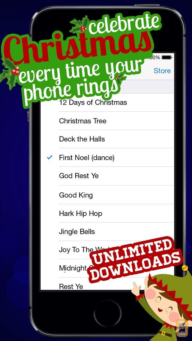 Screenshot - Free Christmas Ringtones! - Christmas Music Ringtones