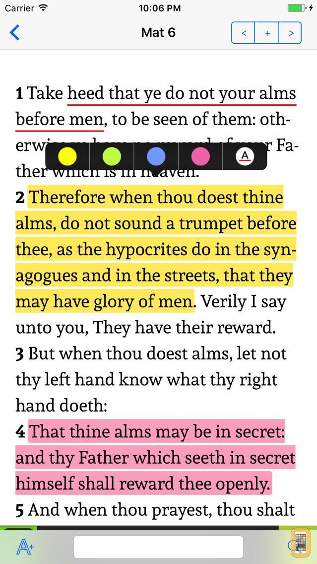 Screenshot - K.J.V. Holy Bible