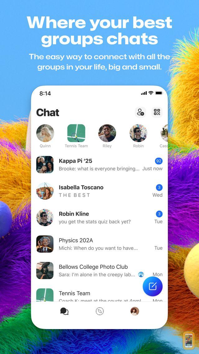 Screenshot - GroupMe