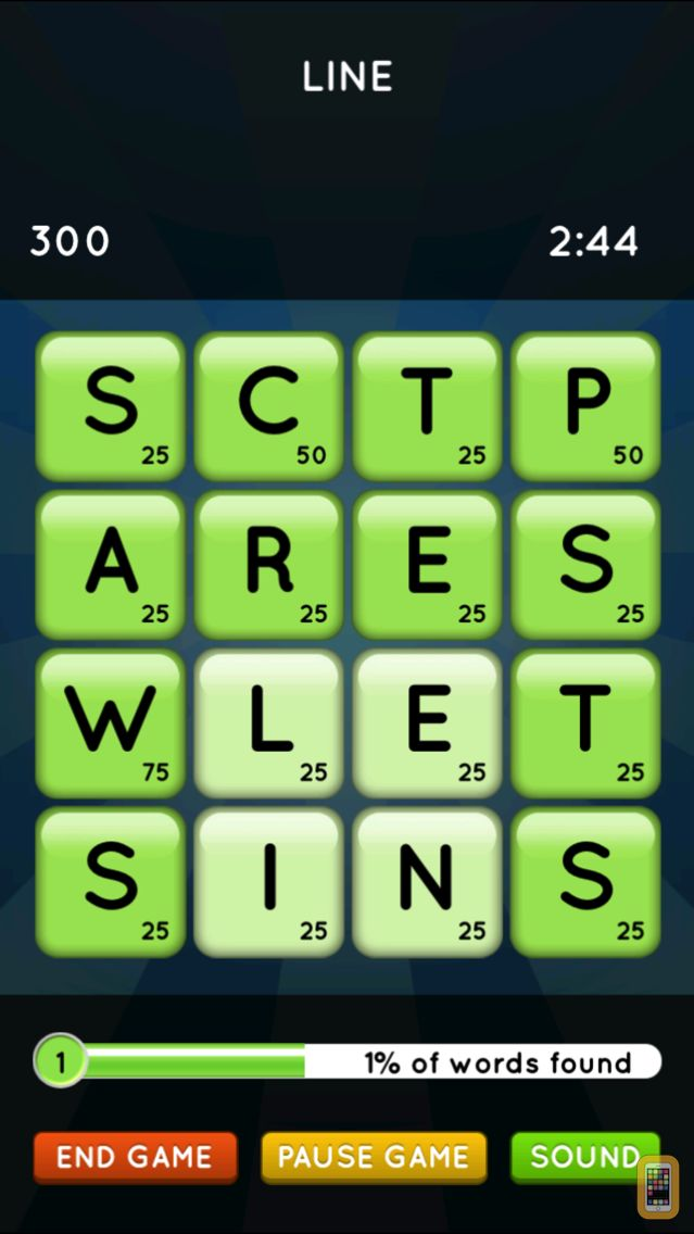 Screenshot - Word Seek HD