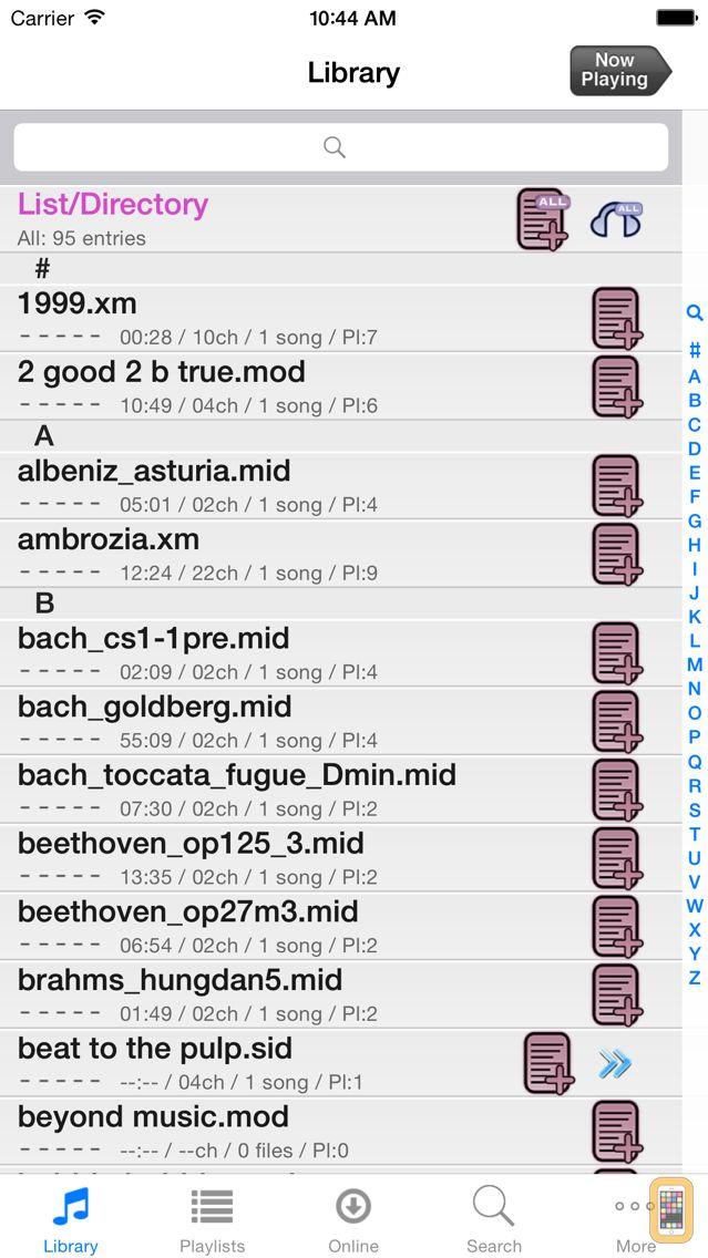 Screenshot - Modizer
