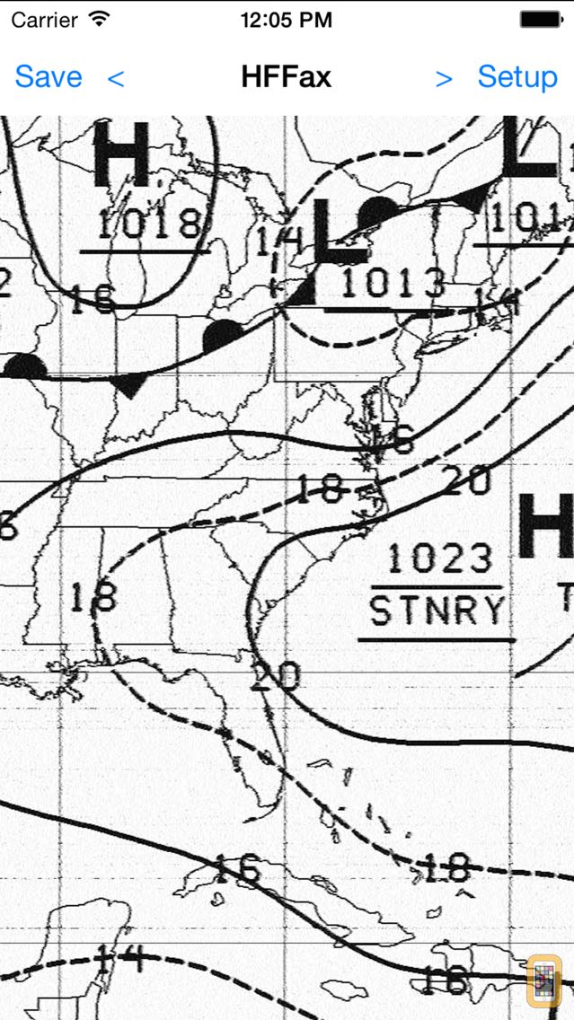 Screenshot - HF Weather Fax