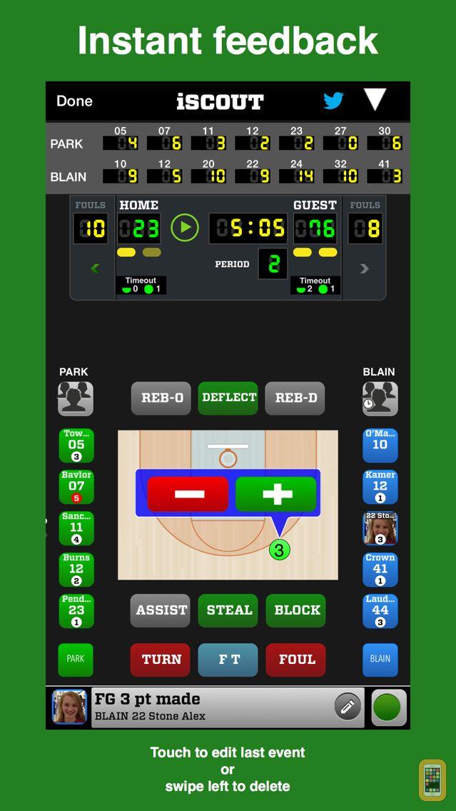 Screenshot - iScout Basketball