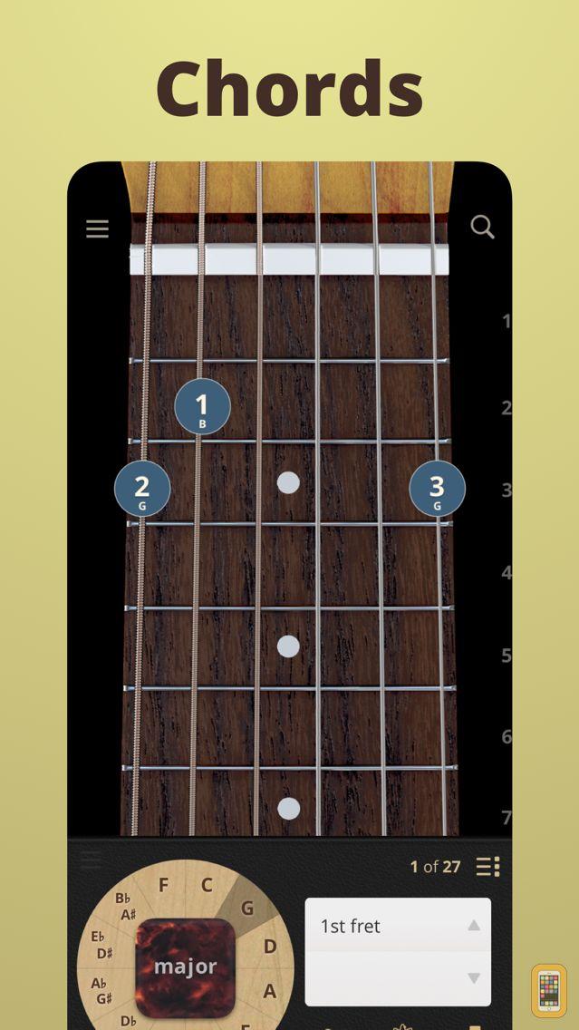 chordbank guitar chord app for iphone ipad app info stats iosnoops. Black Bedroom Furniture Sets. Home Design Ideas