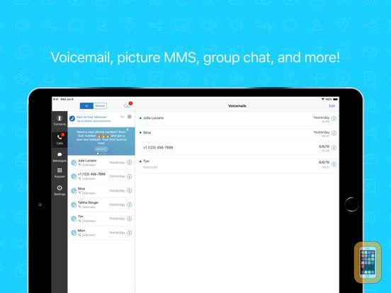 Talkatone: WiFi Text & Calls for iPhone & iPad - App Info