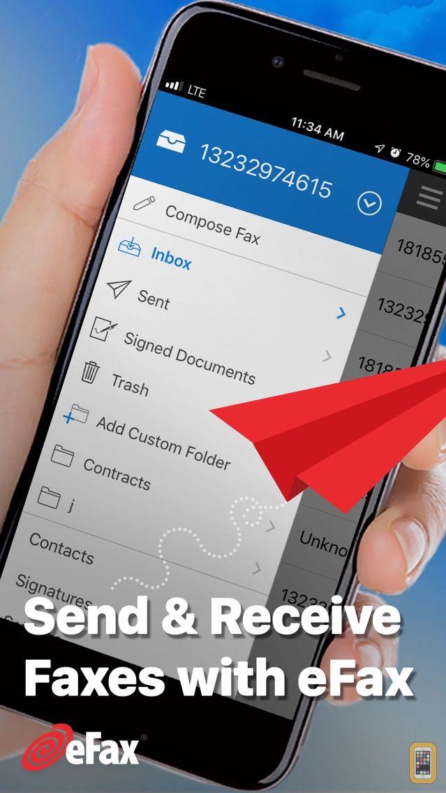 Screenshot - eFax App–Send Fax from iPhone