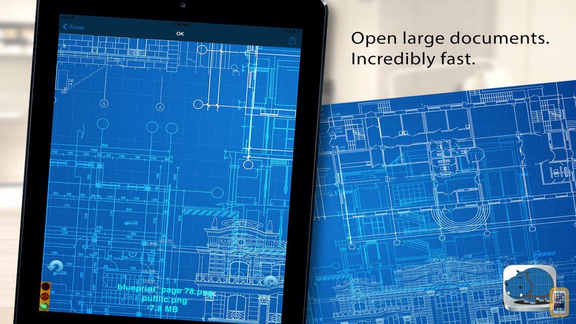 Screenshot - Blueprints with LargeViewer