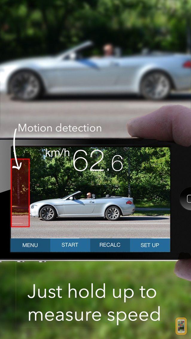 Screenshot - SpeedClock - Video Radar