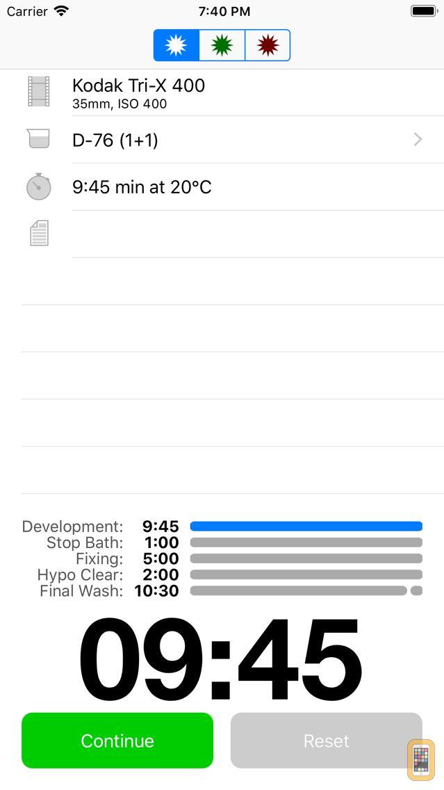 Screenshot - Massive Dev Chart Timer