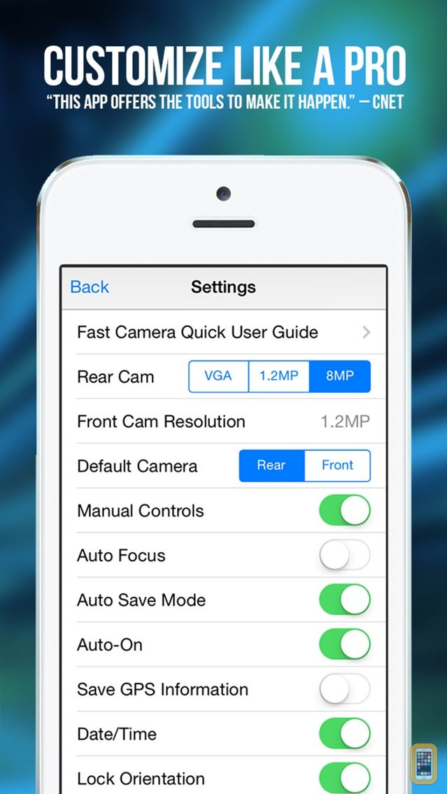 Screenshot - Fast Camera - The Speed Burst, Stealth Cam, 4K Time Lapse Video, Photo Sharing & Stop Motion Photos App