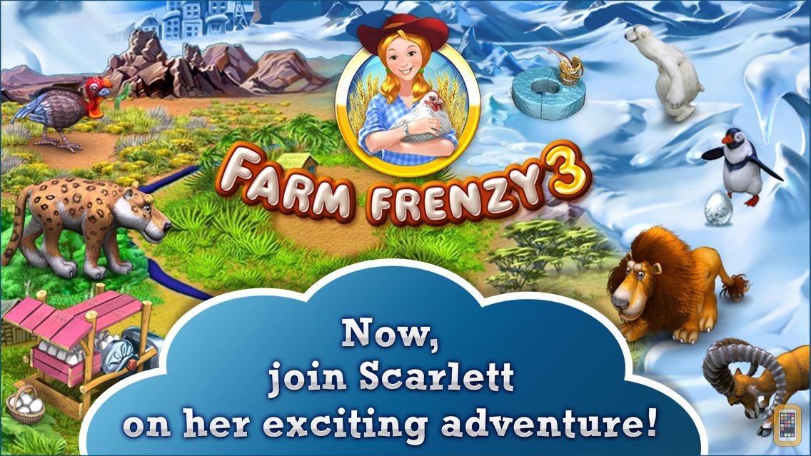 Screenshot - Farm Frenzy 3. Farming game