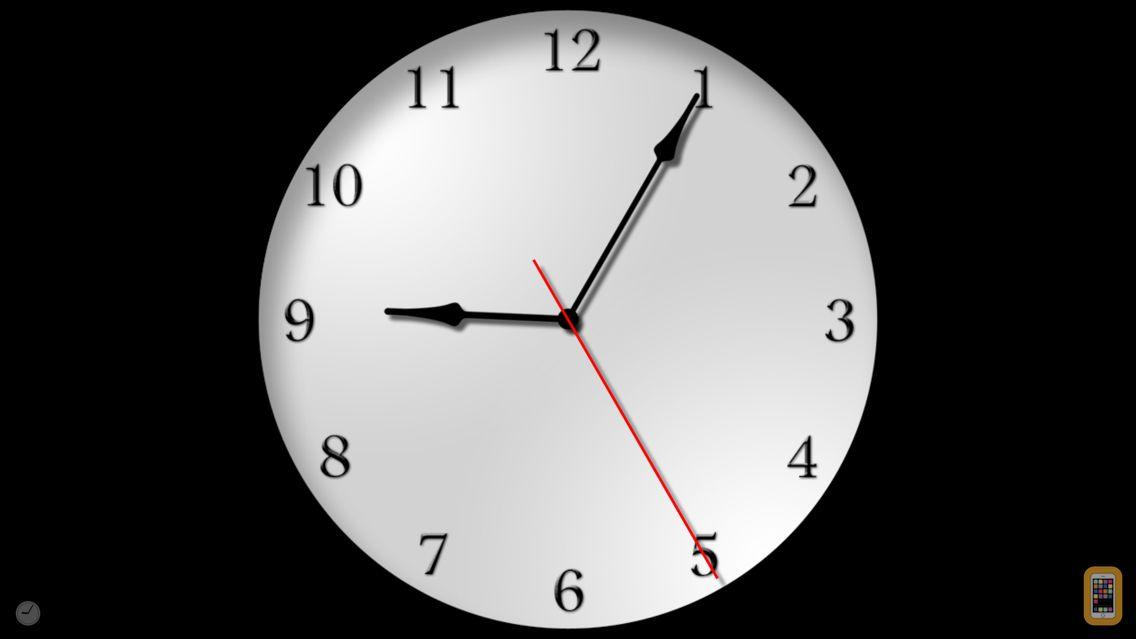 Screenshot - The Clocks: Alarm, World Clock