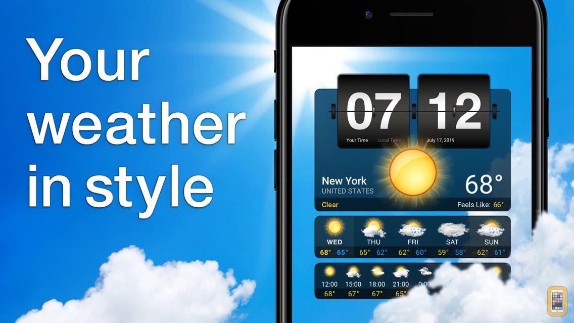 Screenshot - Weather⁺