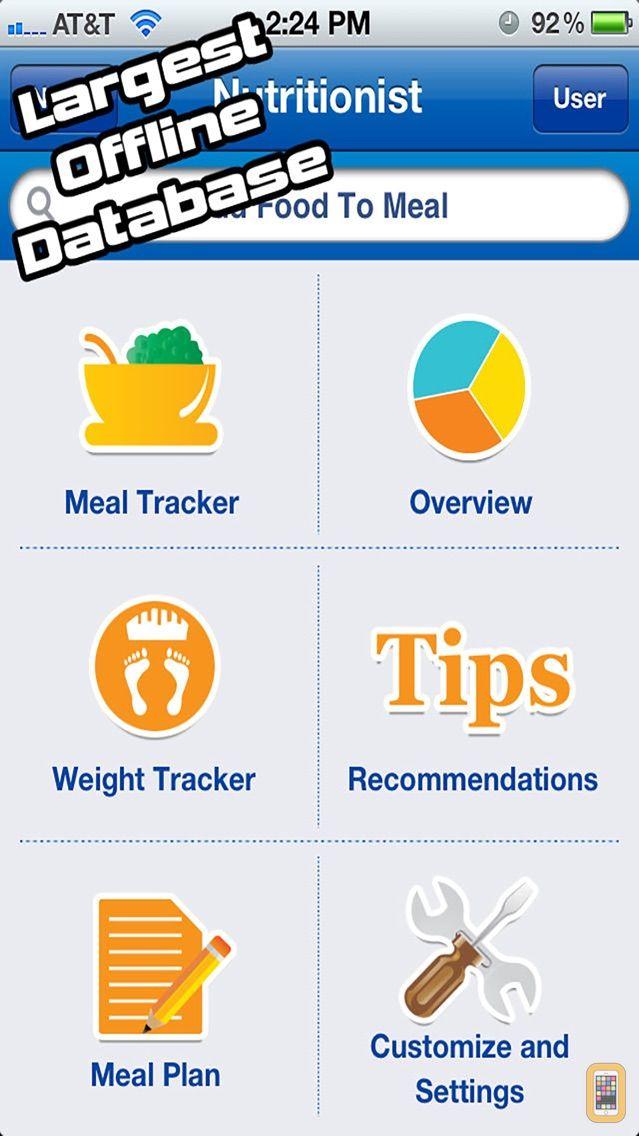 Screenshot - Nutritionist