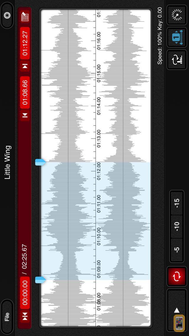 Screenshot - mimiCopy - Slow Down Player