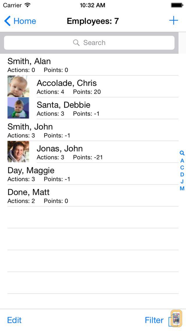 Screenshot - Employee Tracker Pro