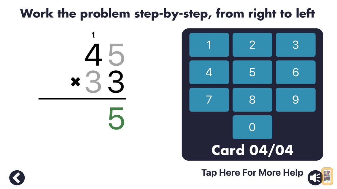 Screenshot - MathEdge Multiplication