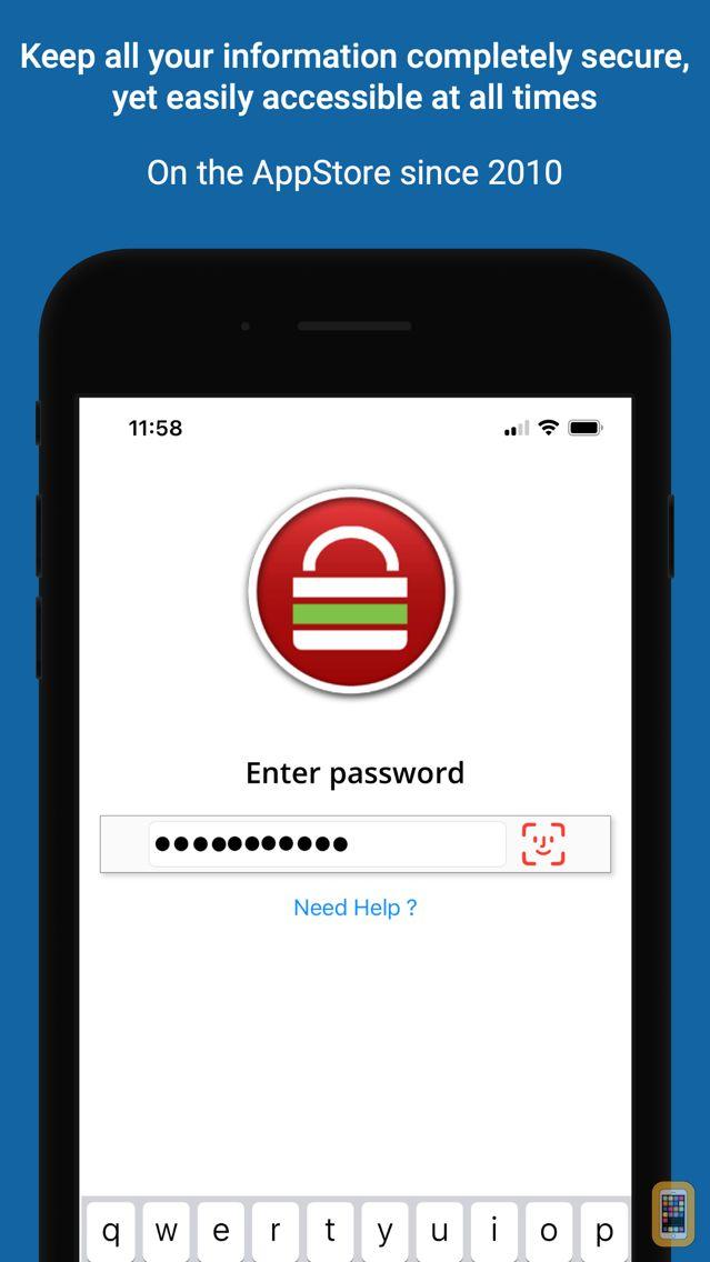 Screenshot - Password Safe - iPassSafe