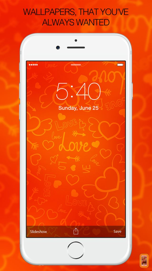 Screenshot - Valentine Wallpapers for iPhone