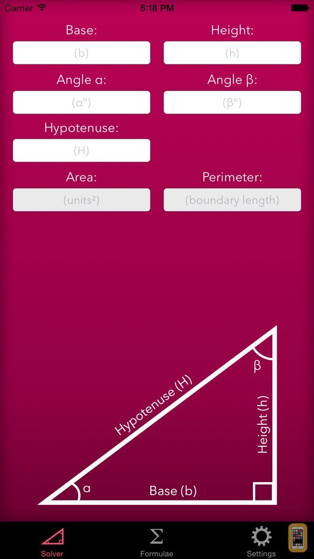 Screenshot - Trigonometry Help