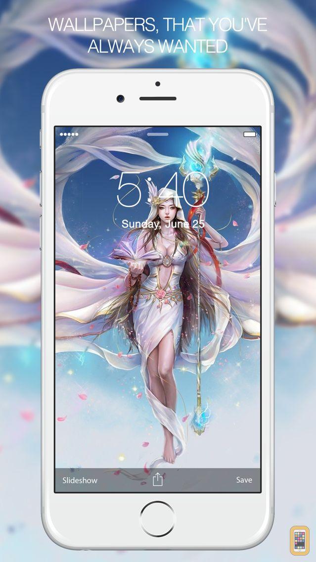 Screenshot - Angel Wallpapers – Fantasy Angel & Fairy Wallpaper