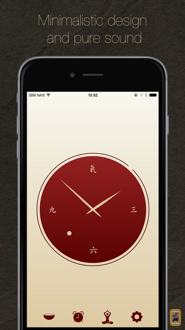 Screenshot - i-Qi clock & meditation timer